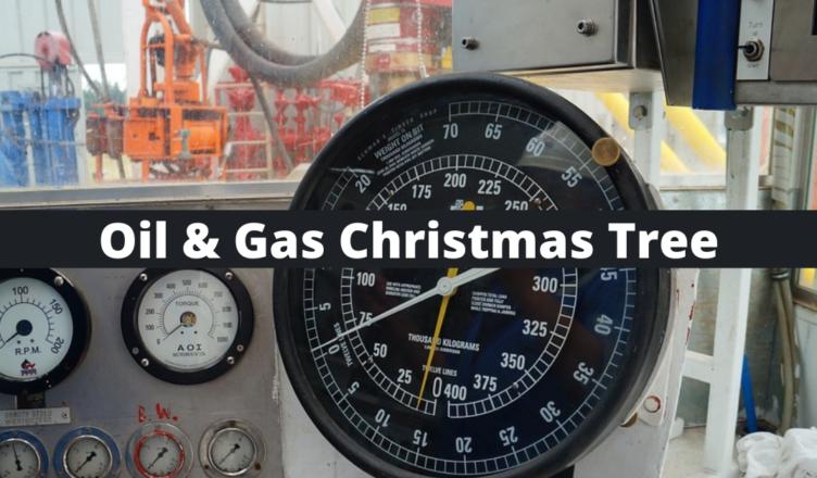 oil and gas christmas tree