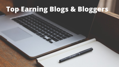 top income earning blogs and bloggers