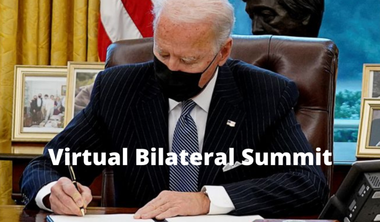 what is a virtual bilateral summit
