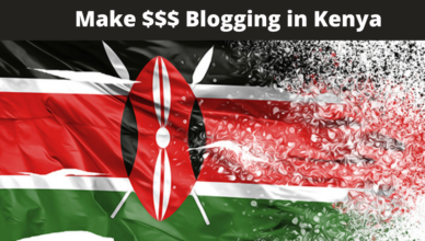 how much is one likely to earn from running a blog in Kenya