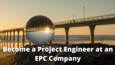 how to become a project engineer in an epc company