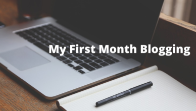 money you gain by blogging the first month