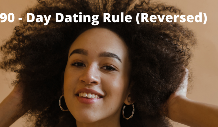 would you date a man with a 90 day rule on spending money on dates