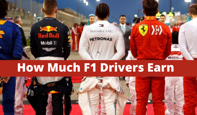 how much do F1 drivers earn from their teams