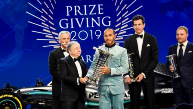 what is the prize for winning in formula one