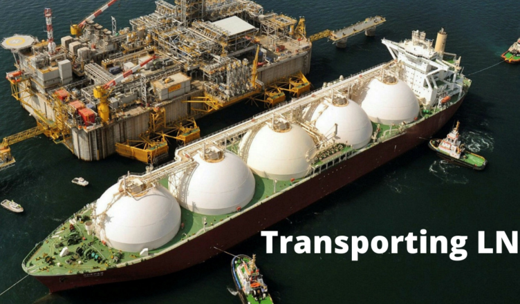 how does lng get transported worldwide