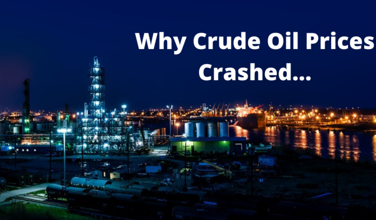 why has crude oil price futures crashed to negative