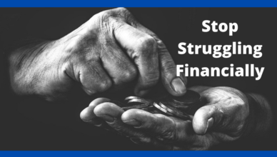 best advice to someone struggling financially
