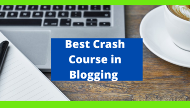 what is the best crash course on blogging