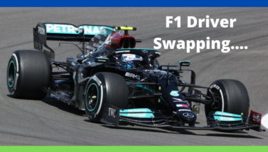 can formula one drivers swap cars within the team