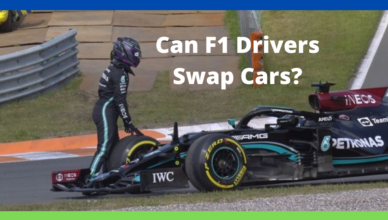 can two f1 drivers swap cars if needed