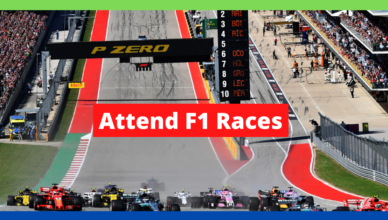 how to attend a formula one race